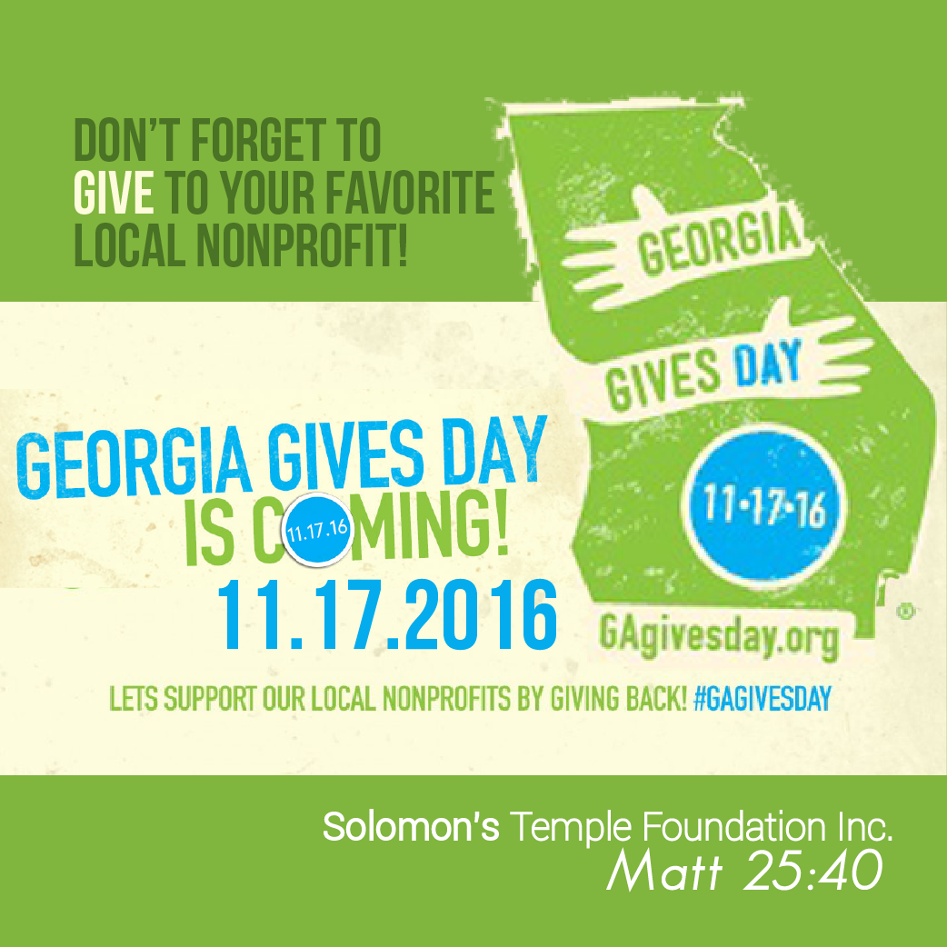 ga-give-day-solomons-temple help homeless women and children